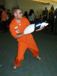 Portal cosplay at Comic-Con